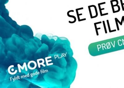 CMore | HTML5 og SimpleAd bannerproduktion