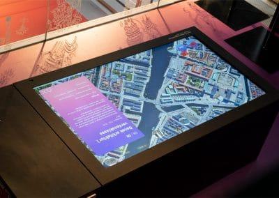 Dansk Arkitektur Center | Interaktive skærme