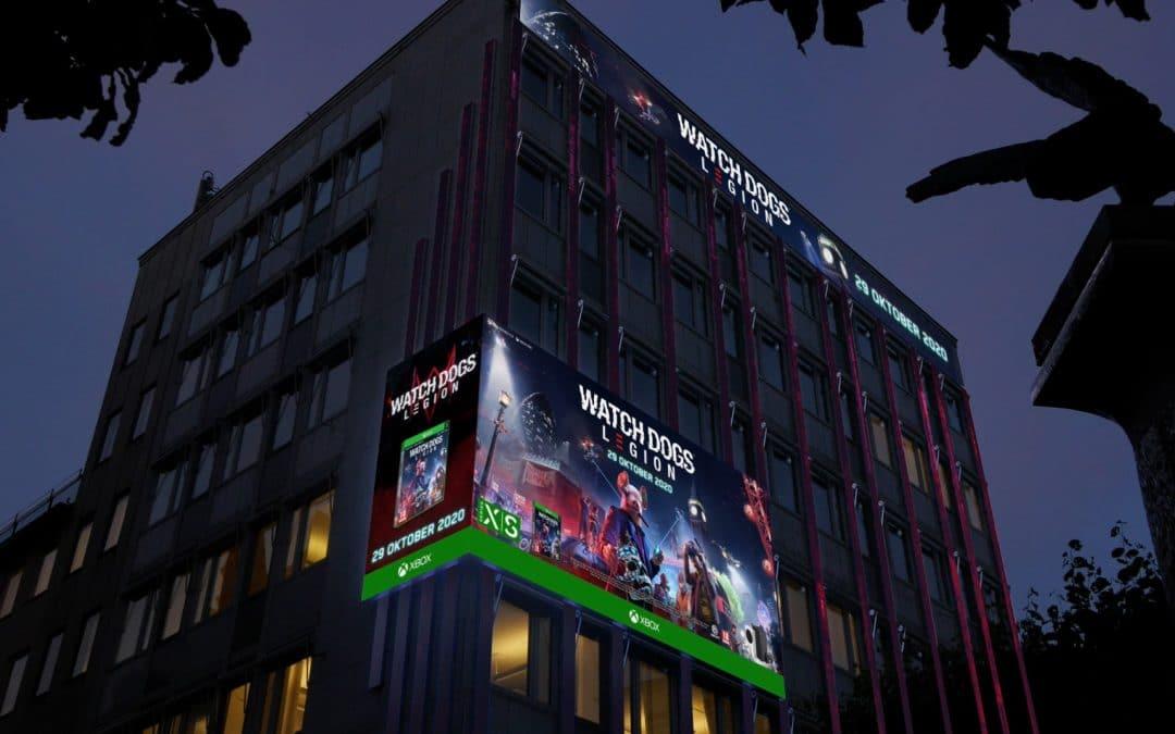 Ubisoft   Digitalt materiale til storskærme i hele Norden