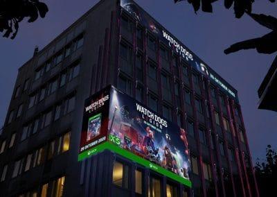 Ubisoft | Digitalt materiale til storskærme i hele Norden
